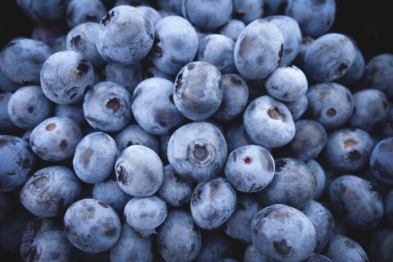 Bułki na słodko – bułki z jagodami.